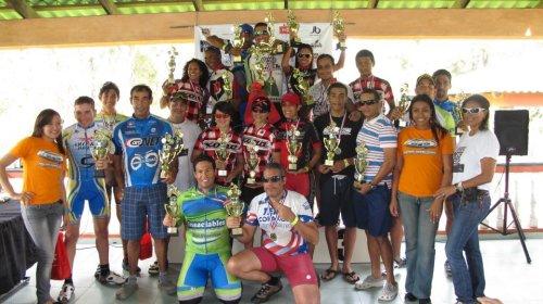 campeones del Campeonato Distrital MTB 2012
