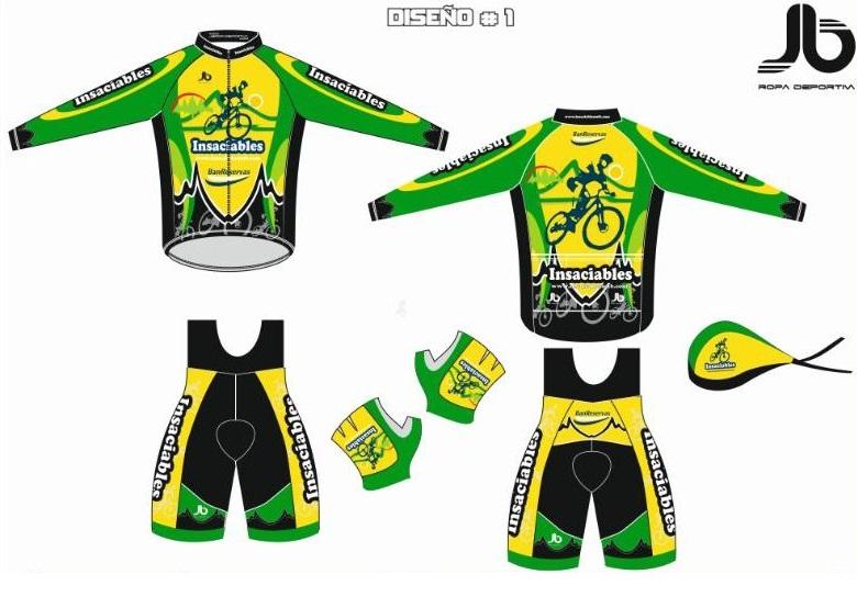 Lanzamiento uniformes insaciables mtb 2013 insaciables mtb for Equipos de ciclismo